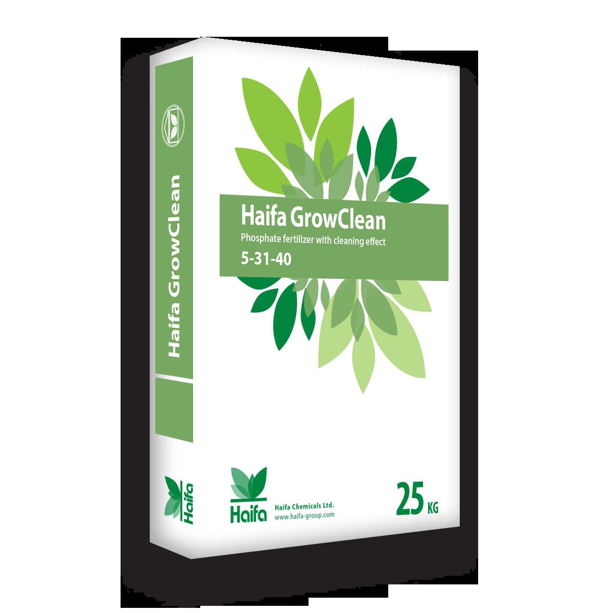 以色列海法 GrowClean系列大量元素水溶肥5-31-40 25公斤
