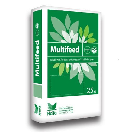 以色列海法 Multifeed系列大量元素水溶肥 25公斤