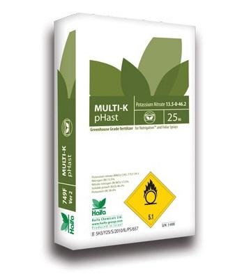 以色列海法 Multi-k系列大量元素水溶肥 25公斤