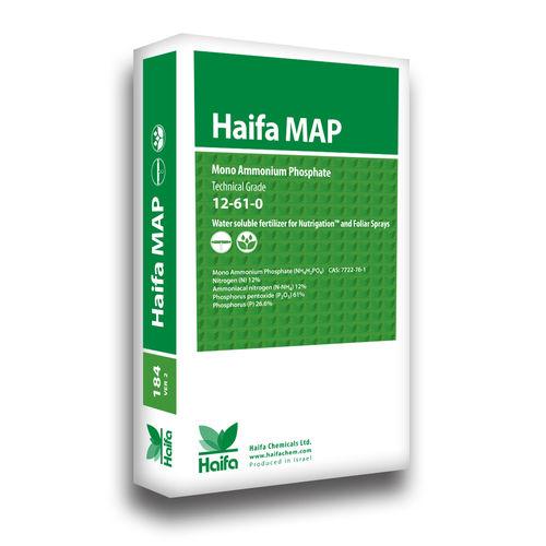 以色列海法 MAP,12-61-0,一袋25公斤,原包进口